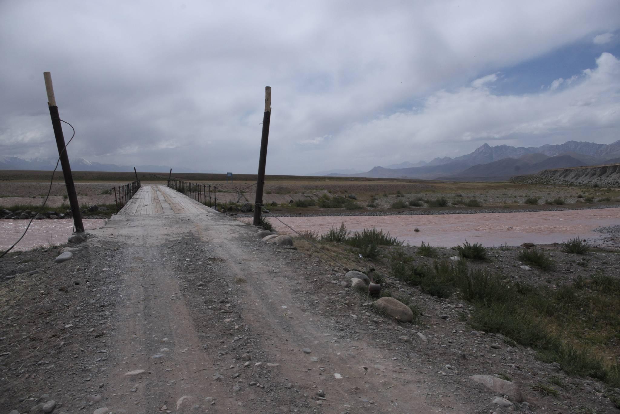 Czym się wyróżnia Kirgistan? Jest most!