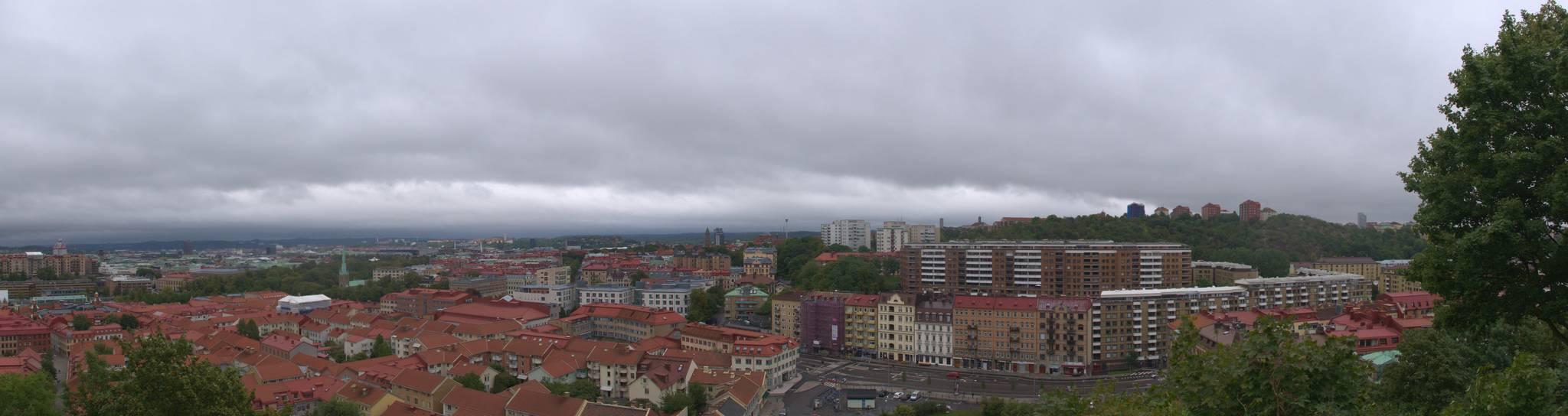 panoramka z miejsca znanego jako Skansen