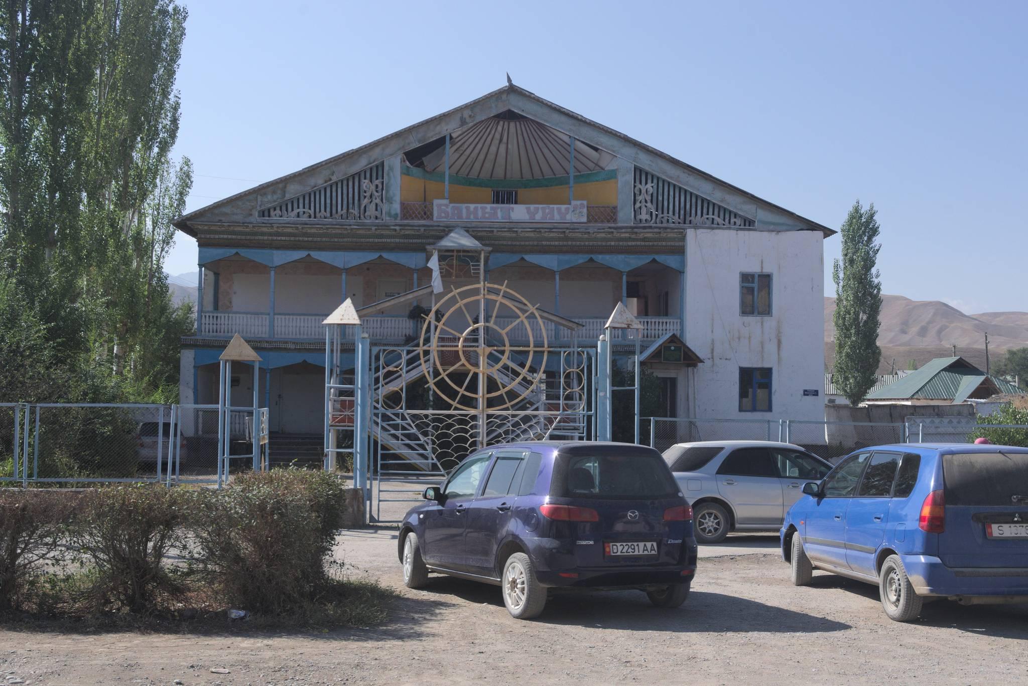 Budynek w Kazarman