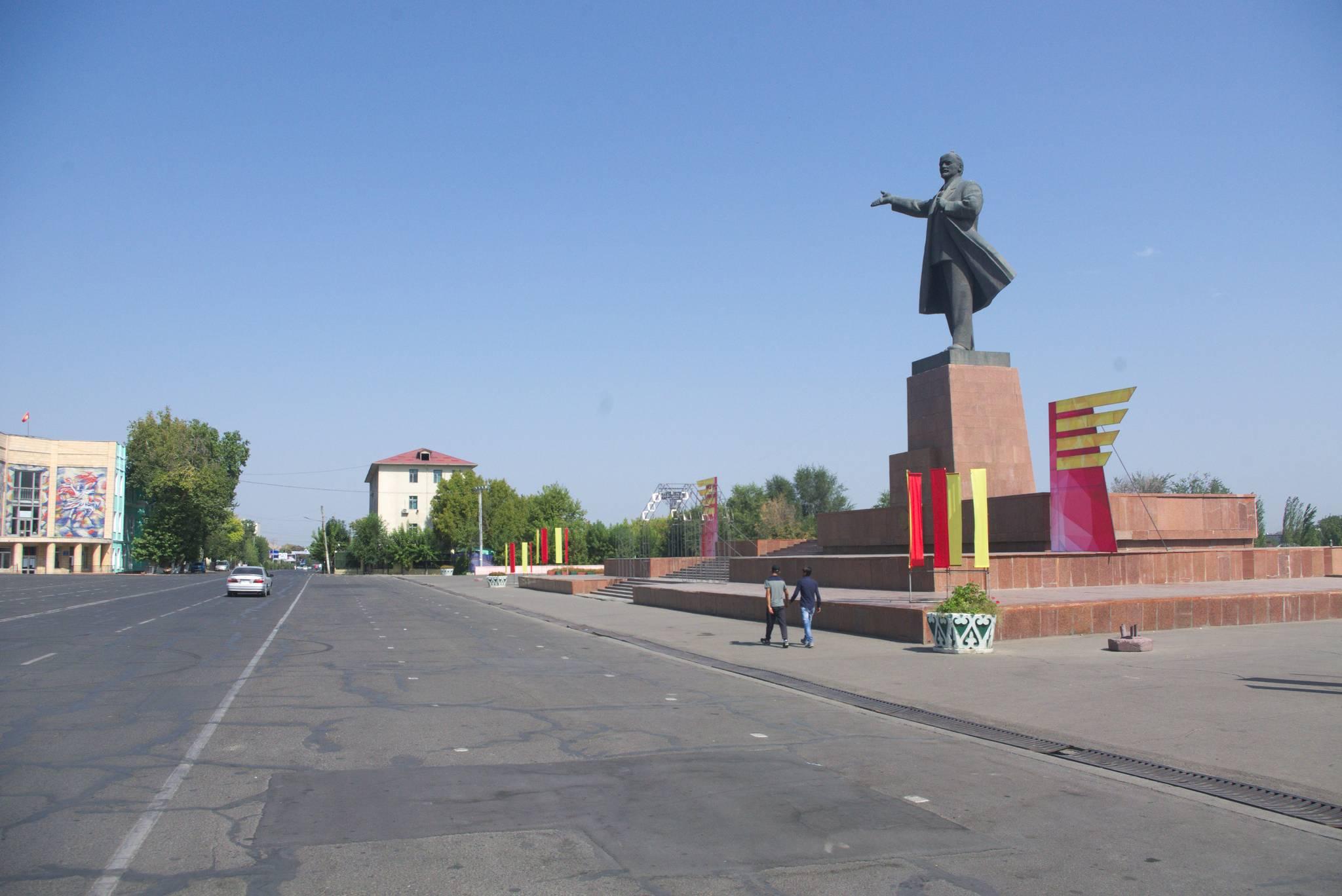 Pod Leninem, czyli witamy w Osh