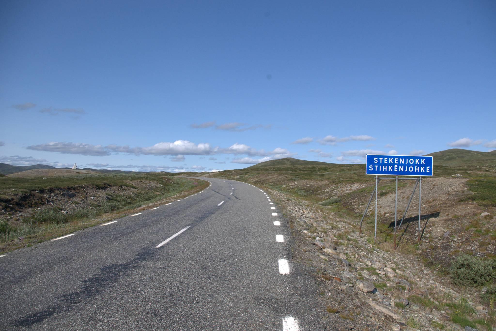 Wedle informacji turystycznej miejsce ze szwedzkim rekordem prędkości wiatru, na szczęście oszczędzono mi tej atrakcji