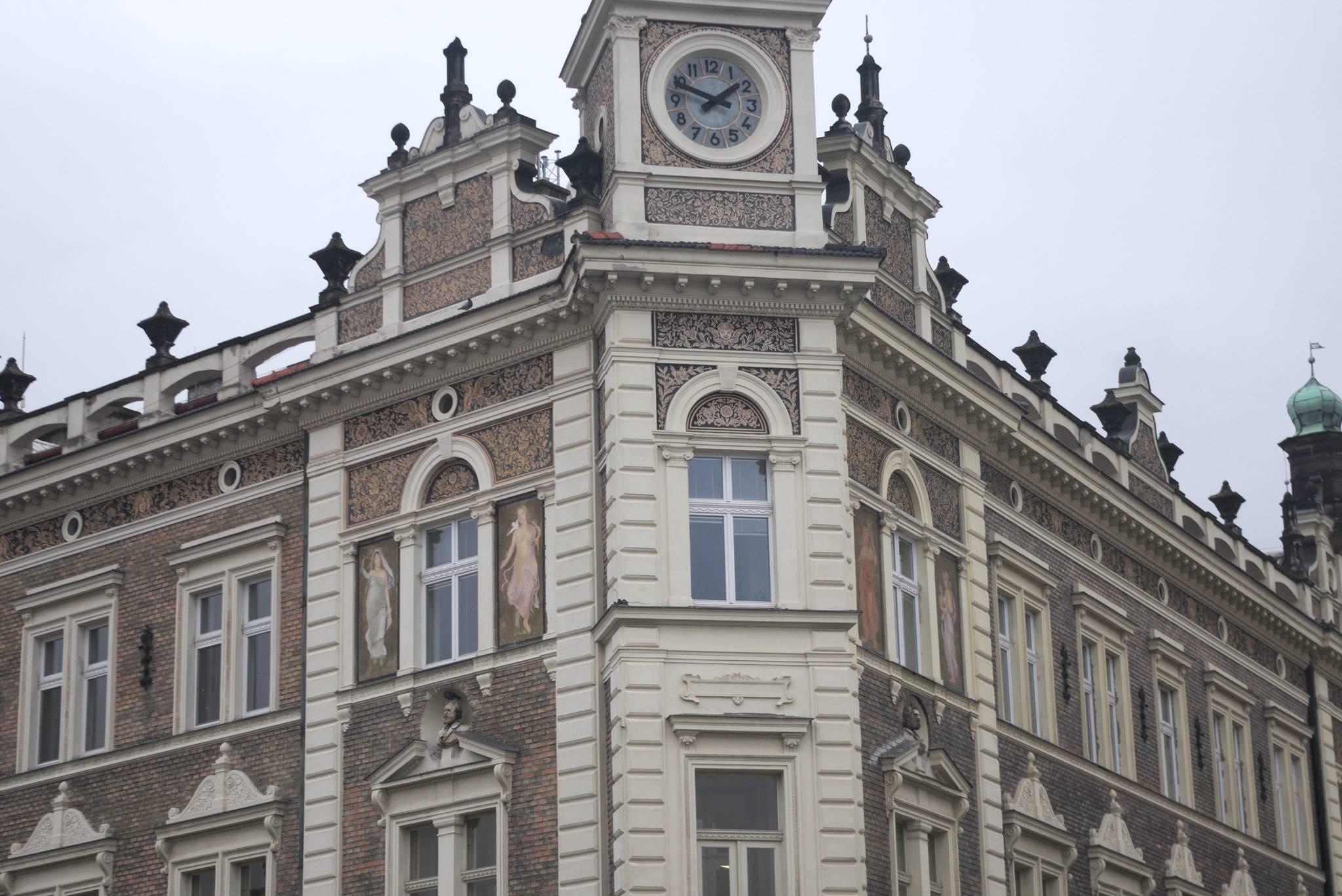 Detale starych budynków robią wrażenie