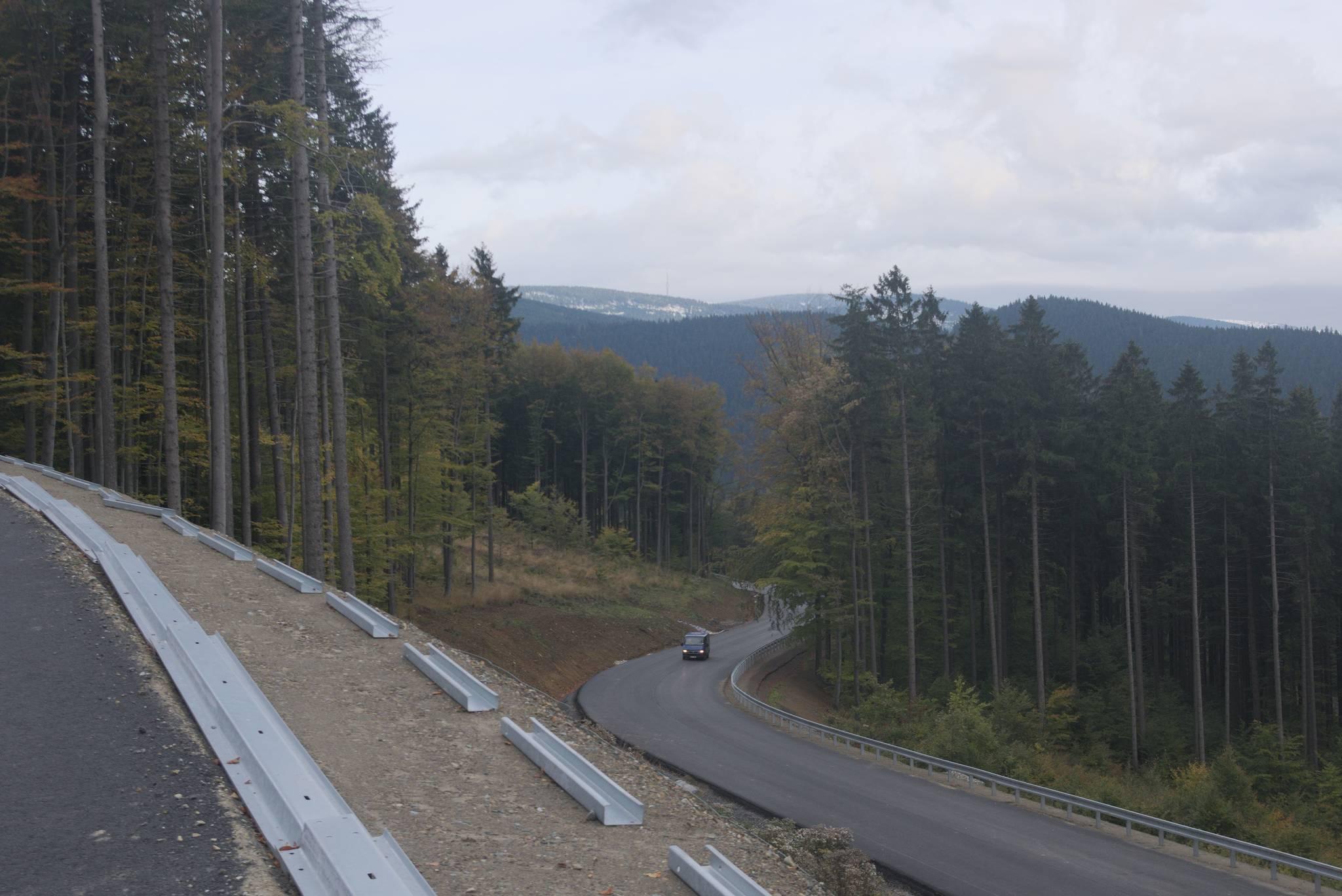 Nowa droga na Czerwonohorskie