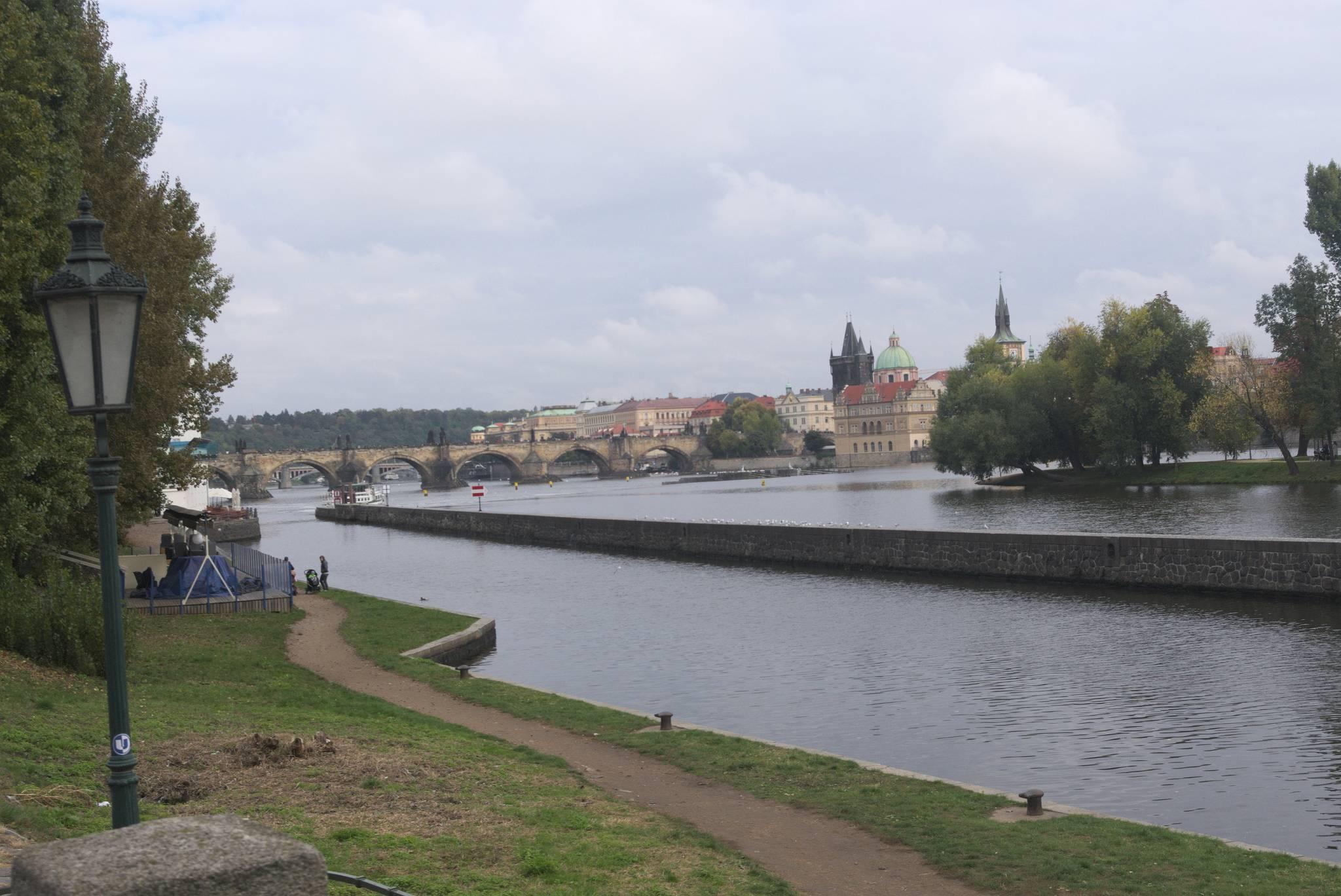Most Karola i Wełtawa