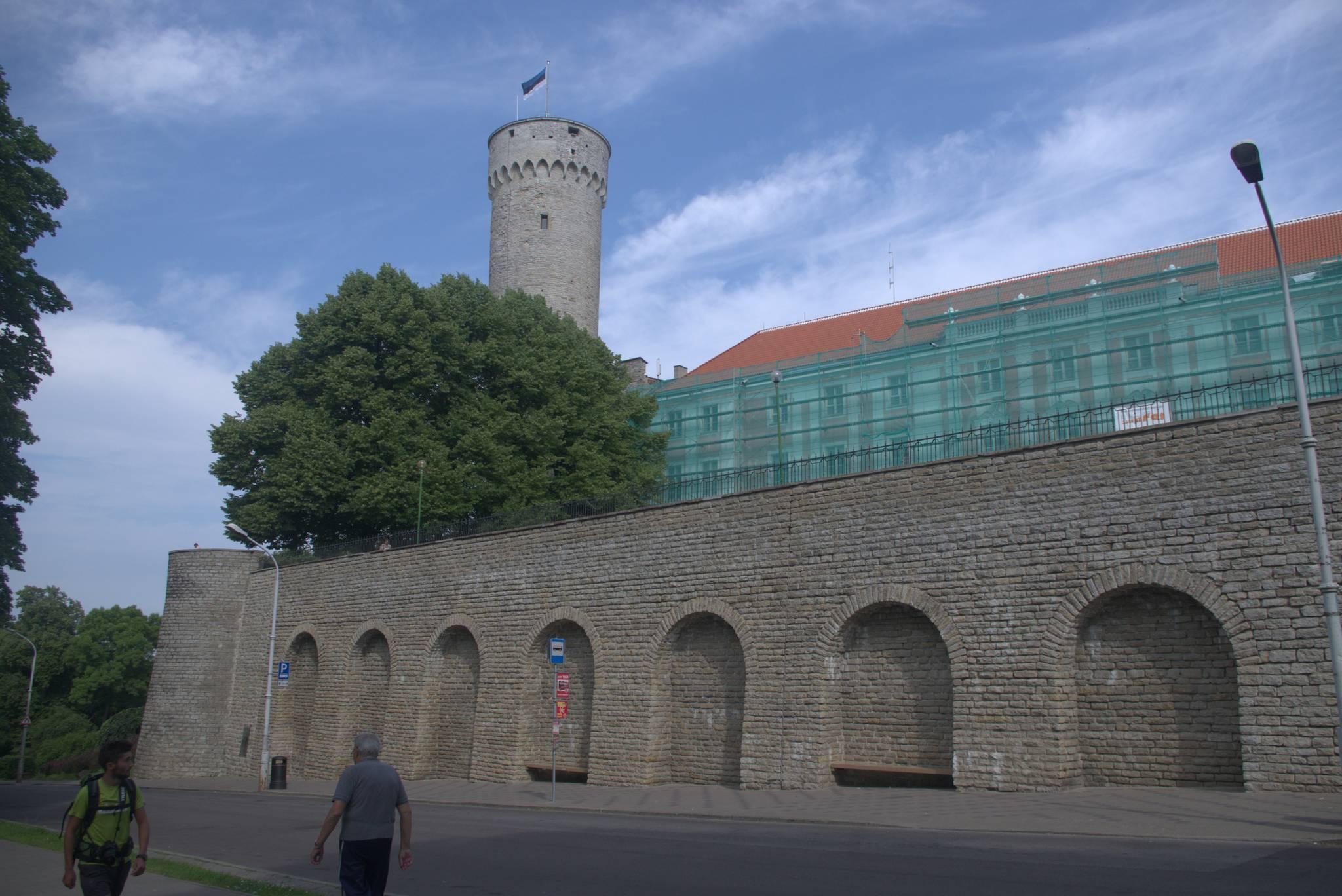 twierdza starego miasta w Tallinie