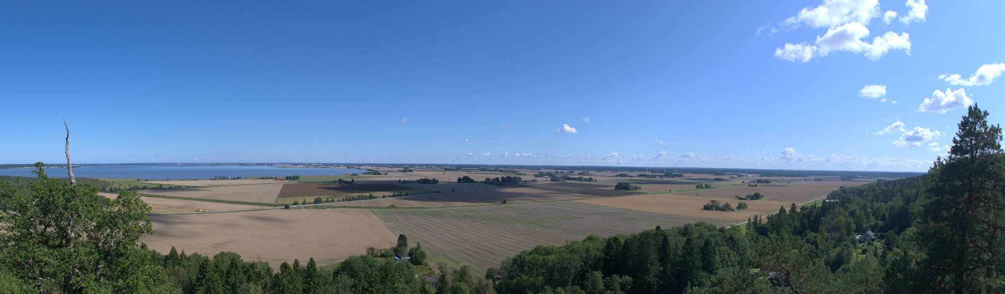 panoramka z Hunneberg