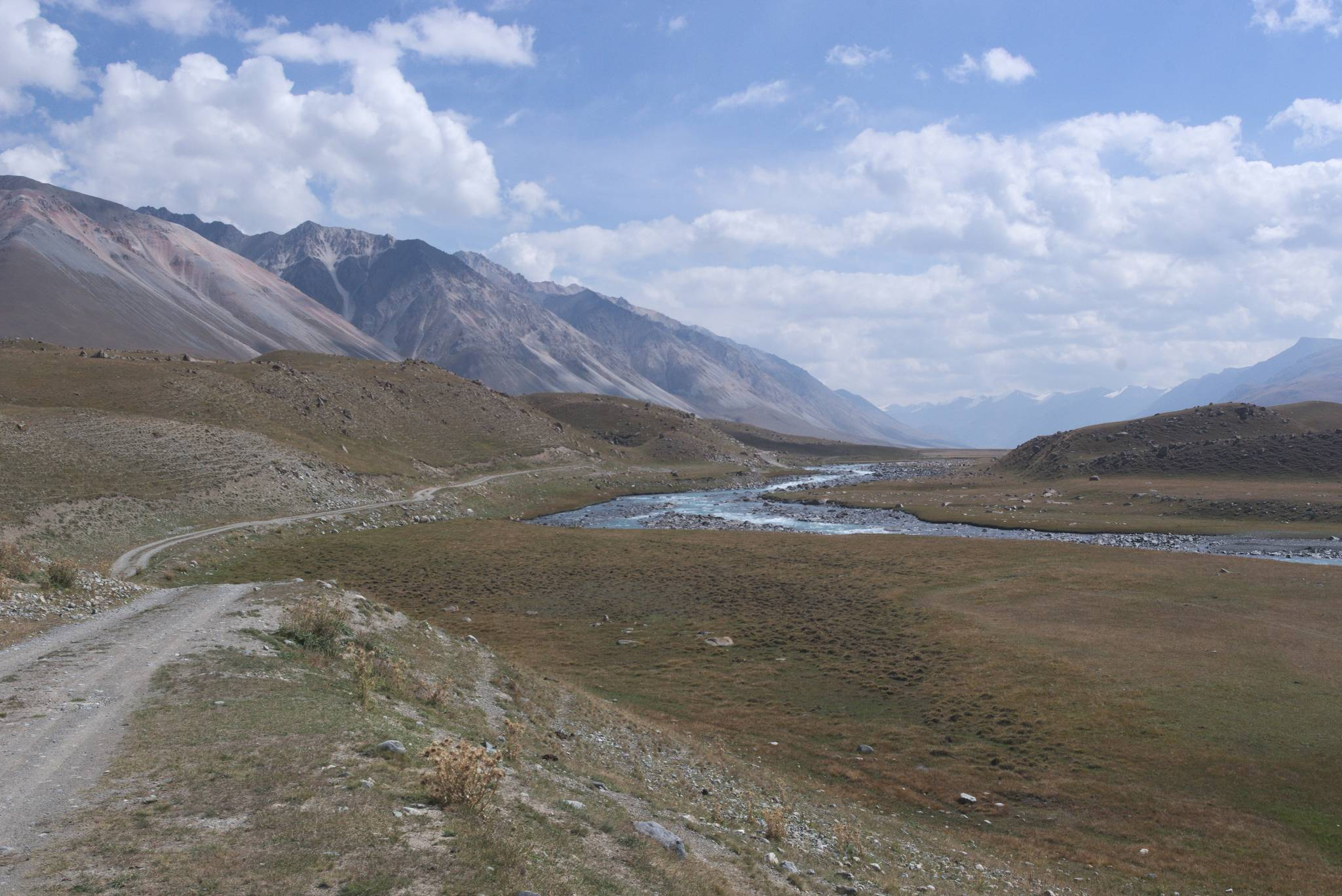 Ja wybrałem nieco inną drogę, doliną Burhan