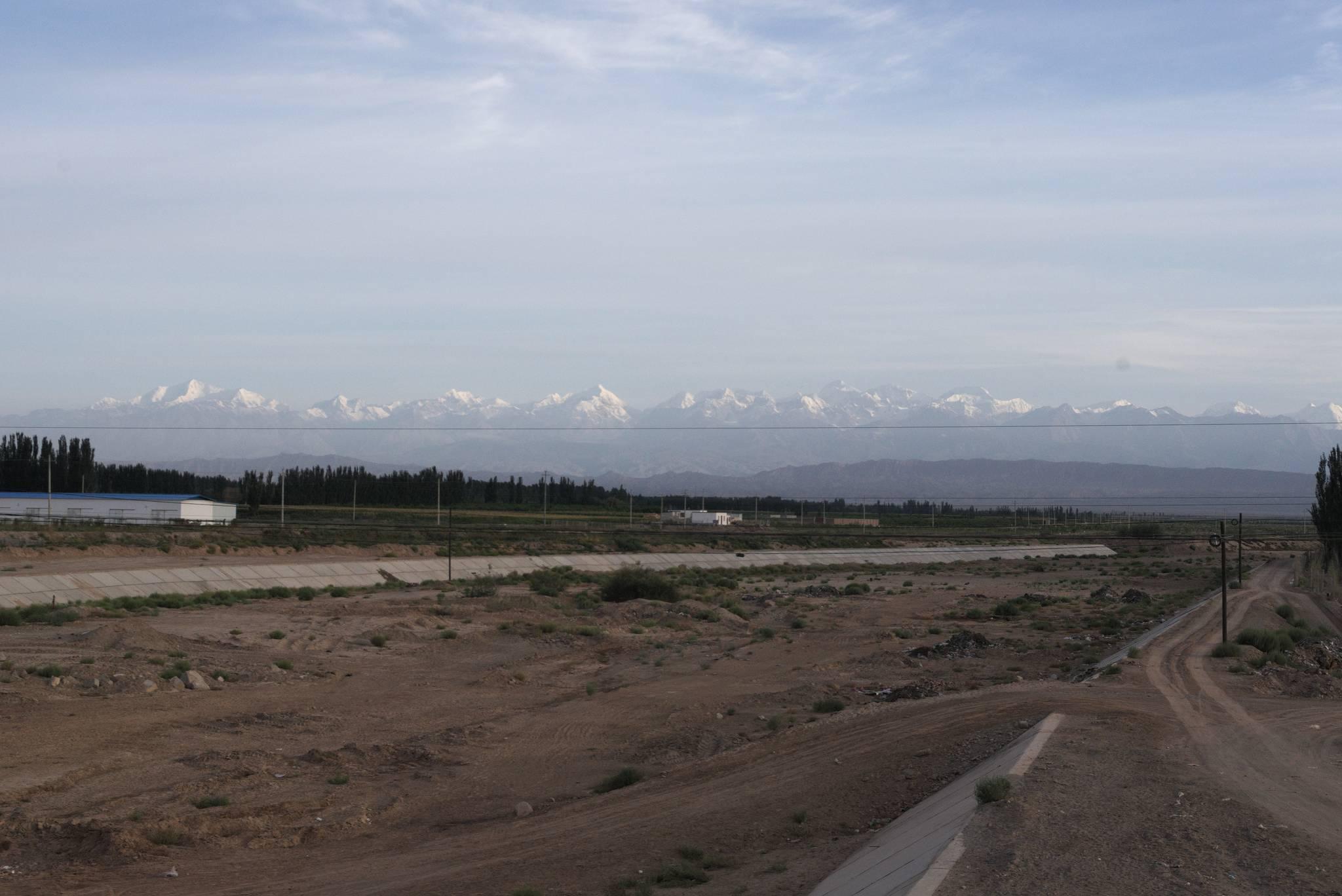 Góry graniczne z Kirgistanem