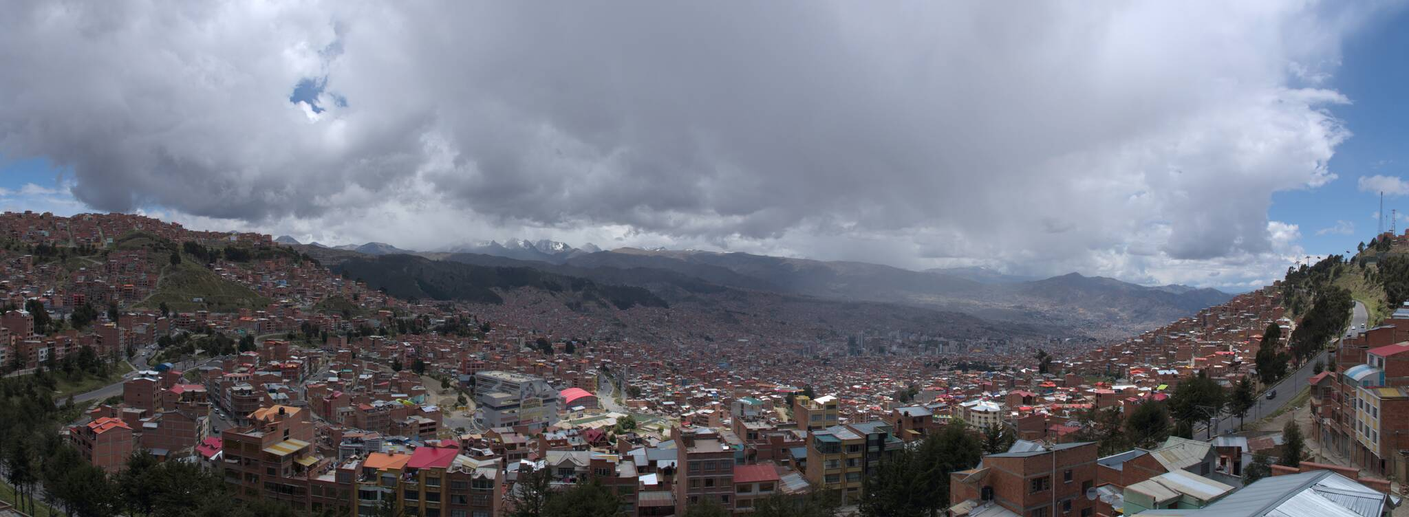 La Paz jest cholernie duże