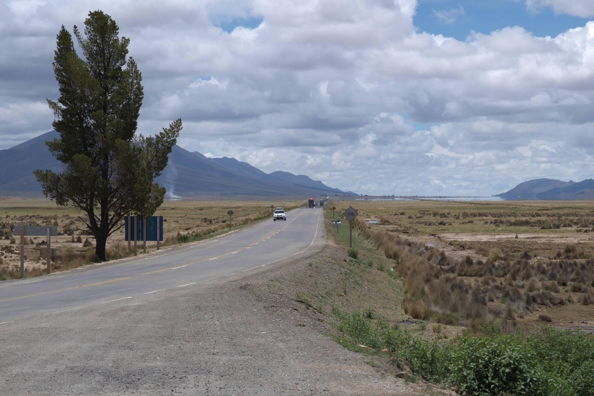 Droga w stronę Uyuni