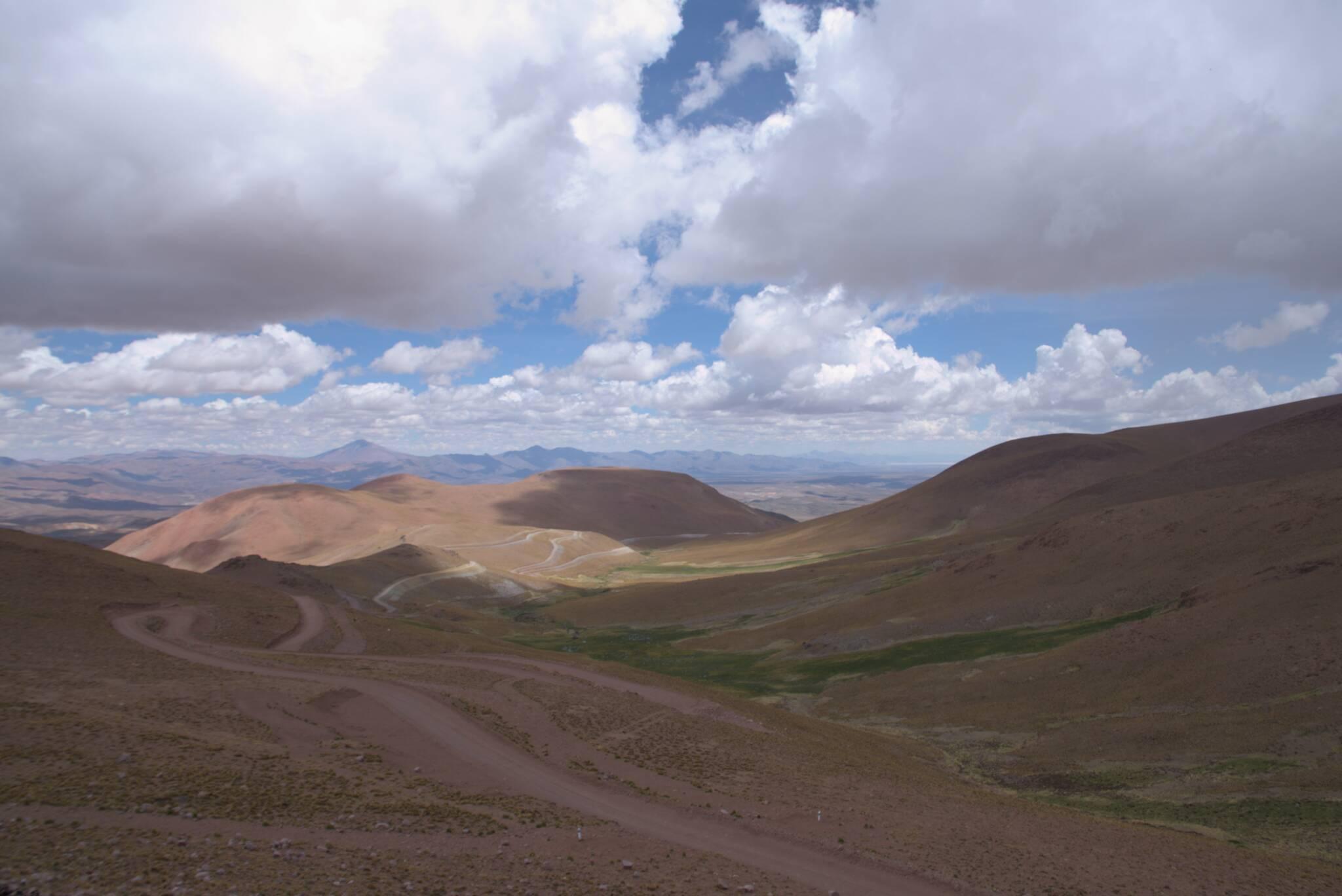 Widoki ze szczytu przełęczy