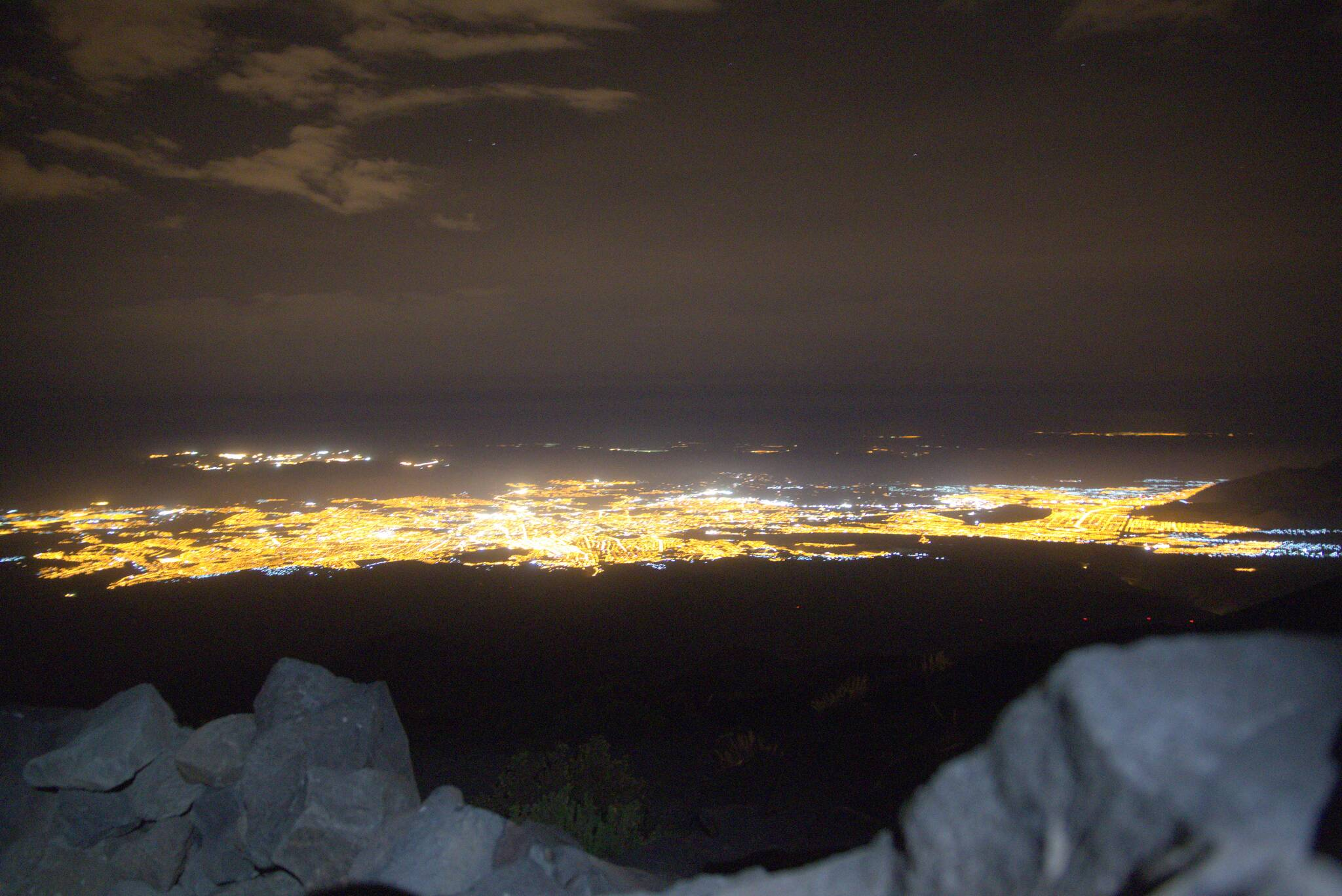 Arequipa nocą. Czas na pobudkę i drugi etap wejścia na szczyt