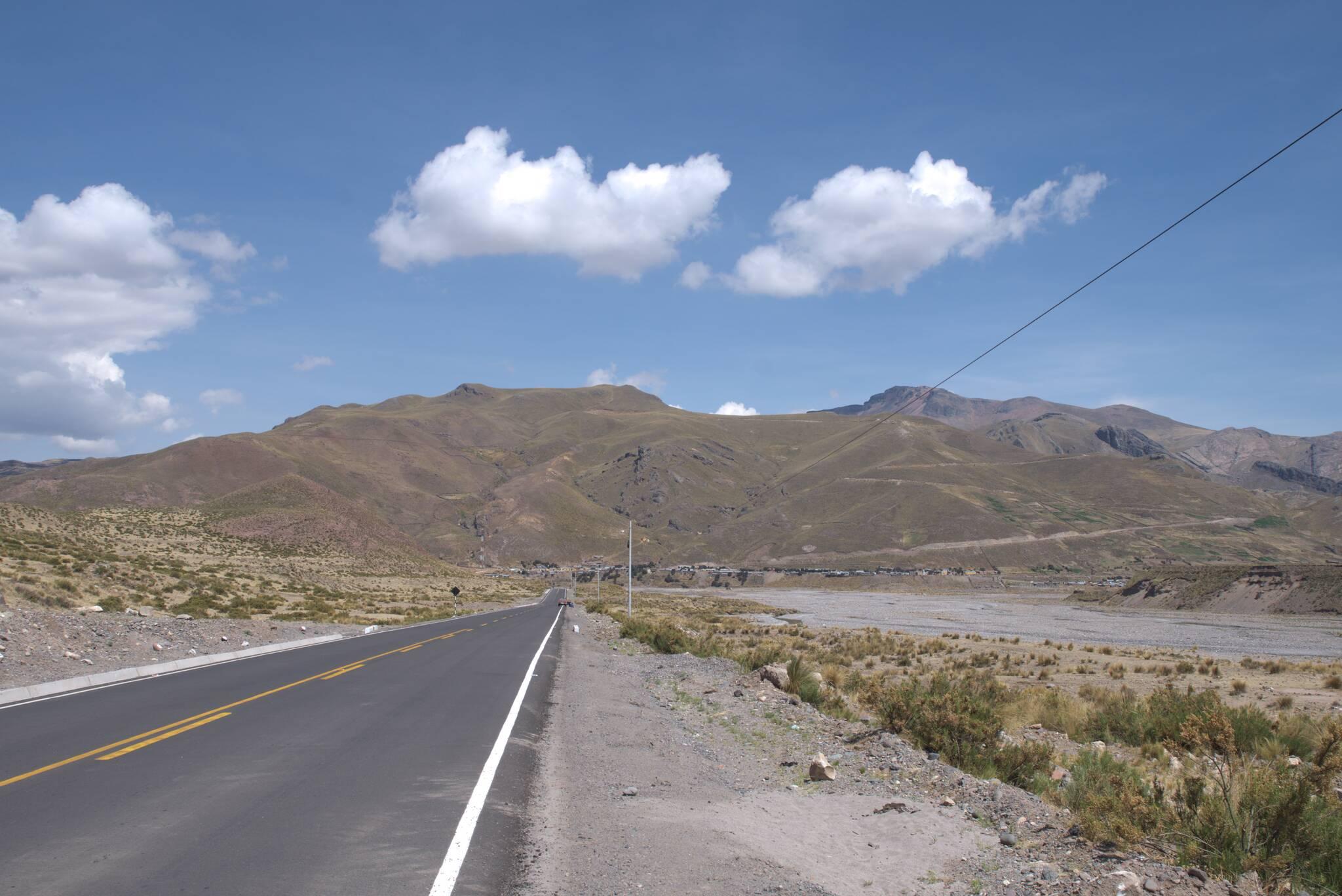 Fragment asfaltu do Sibayo