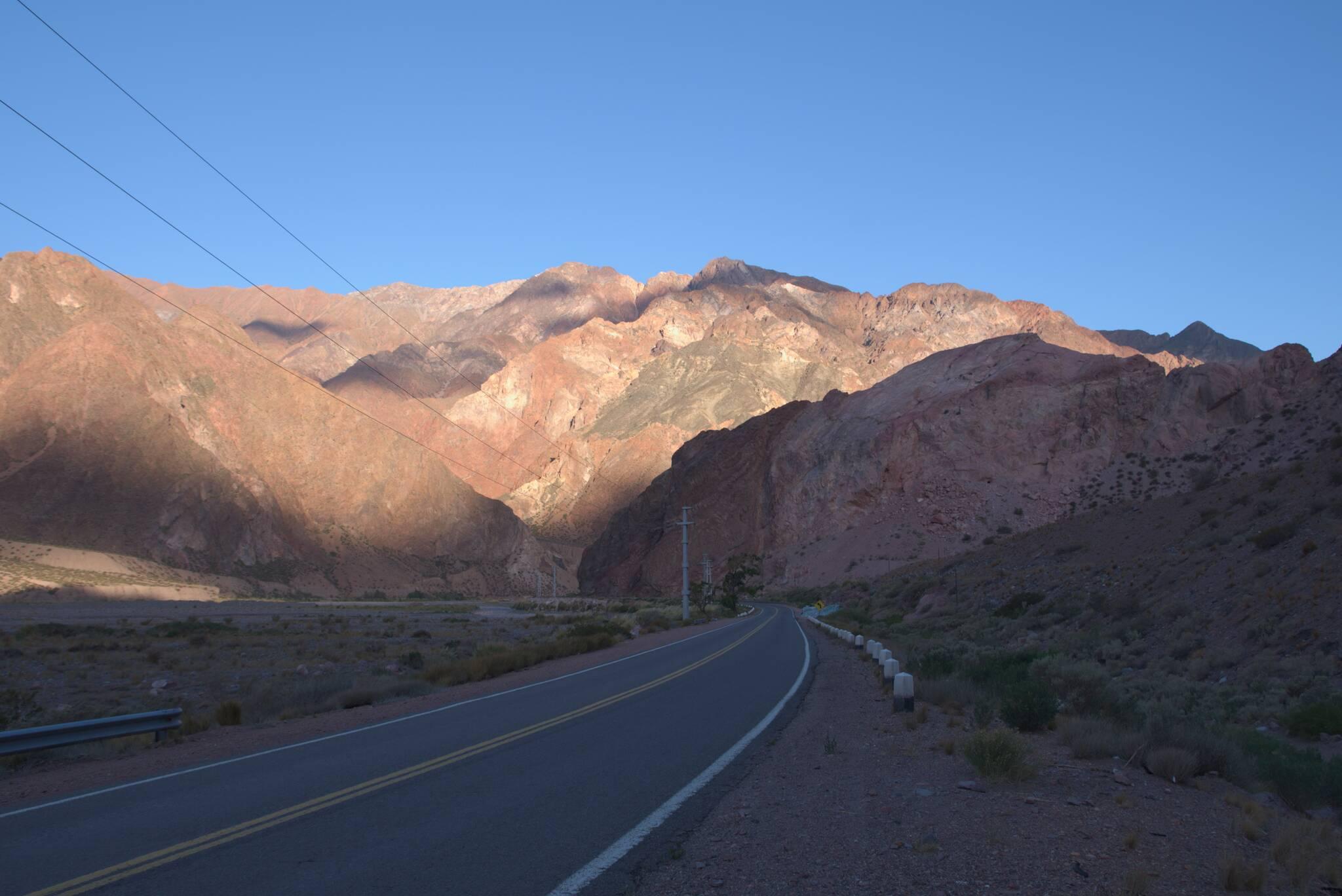 Główna droga Santiago-Mendoza