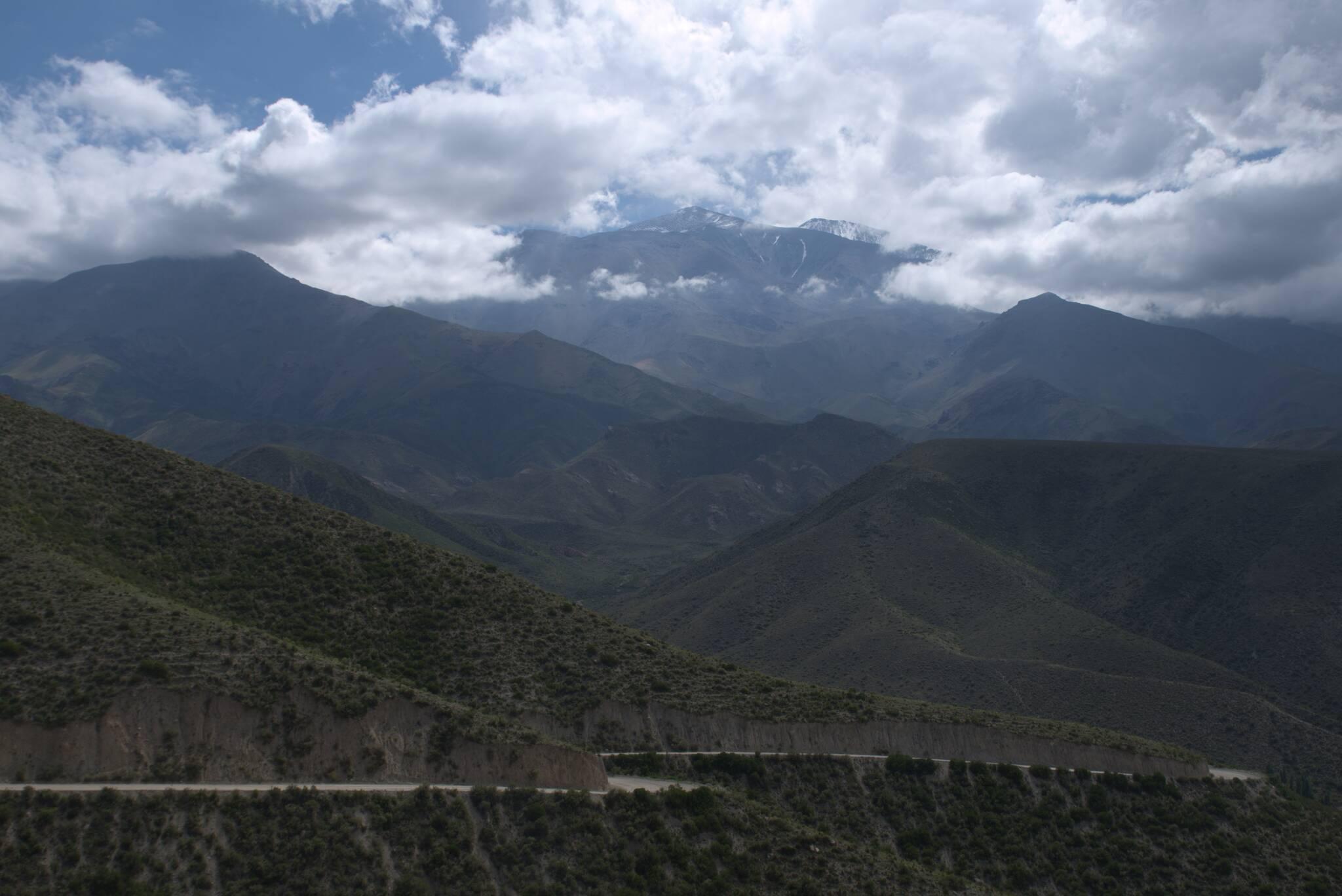 Lodowce na granicy z Chile