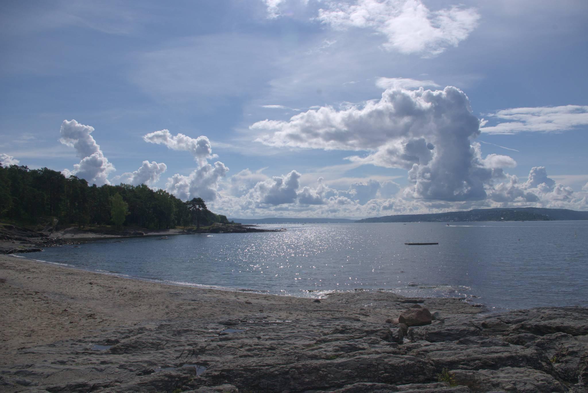 Półwysep Bygdoy, prawie jak nad Adriatykiem
