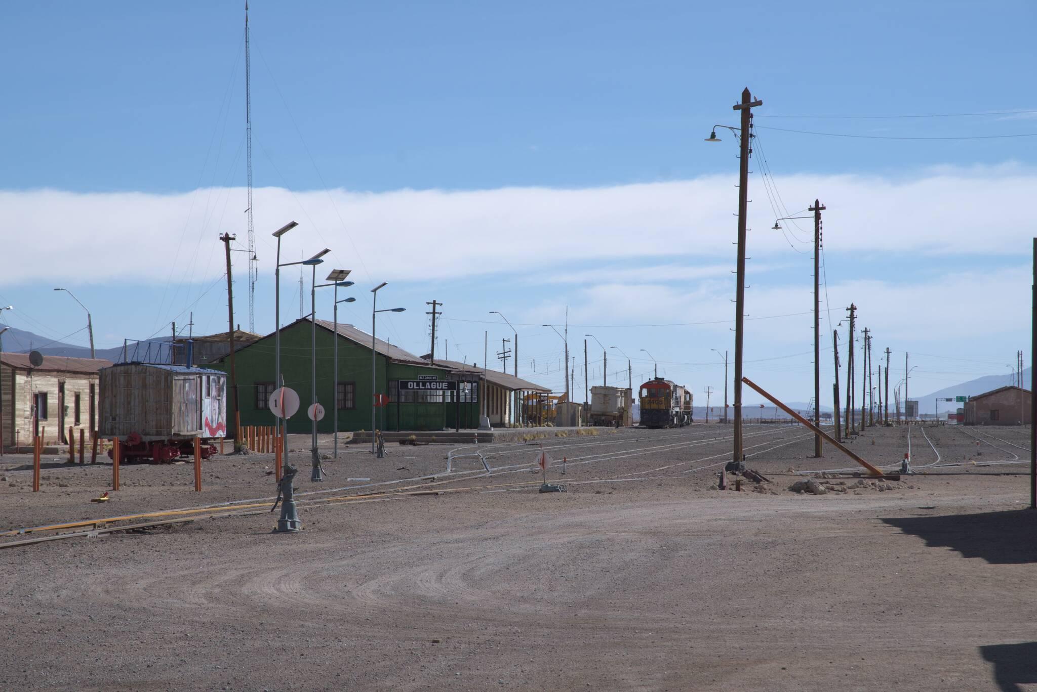 Stacja graniczna w Ollague