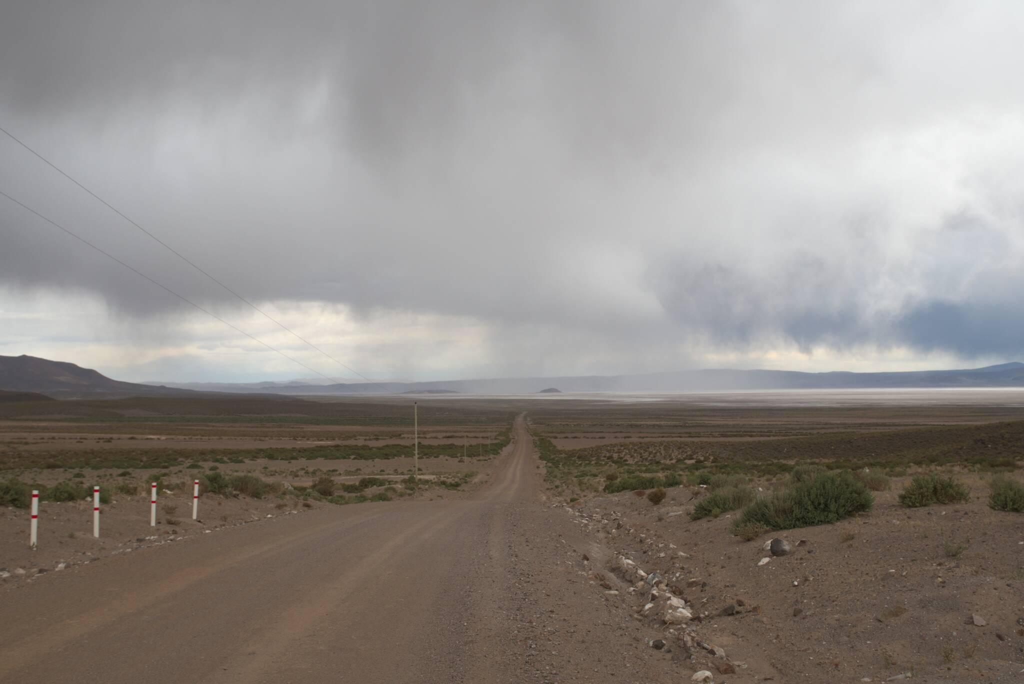 Tradycyjnie, na Altiplano burze