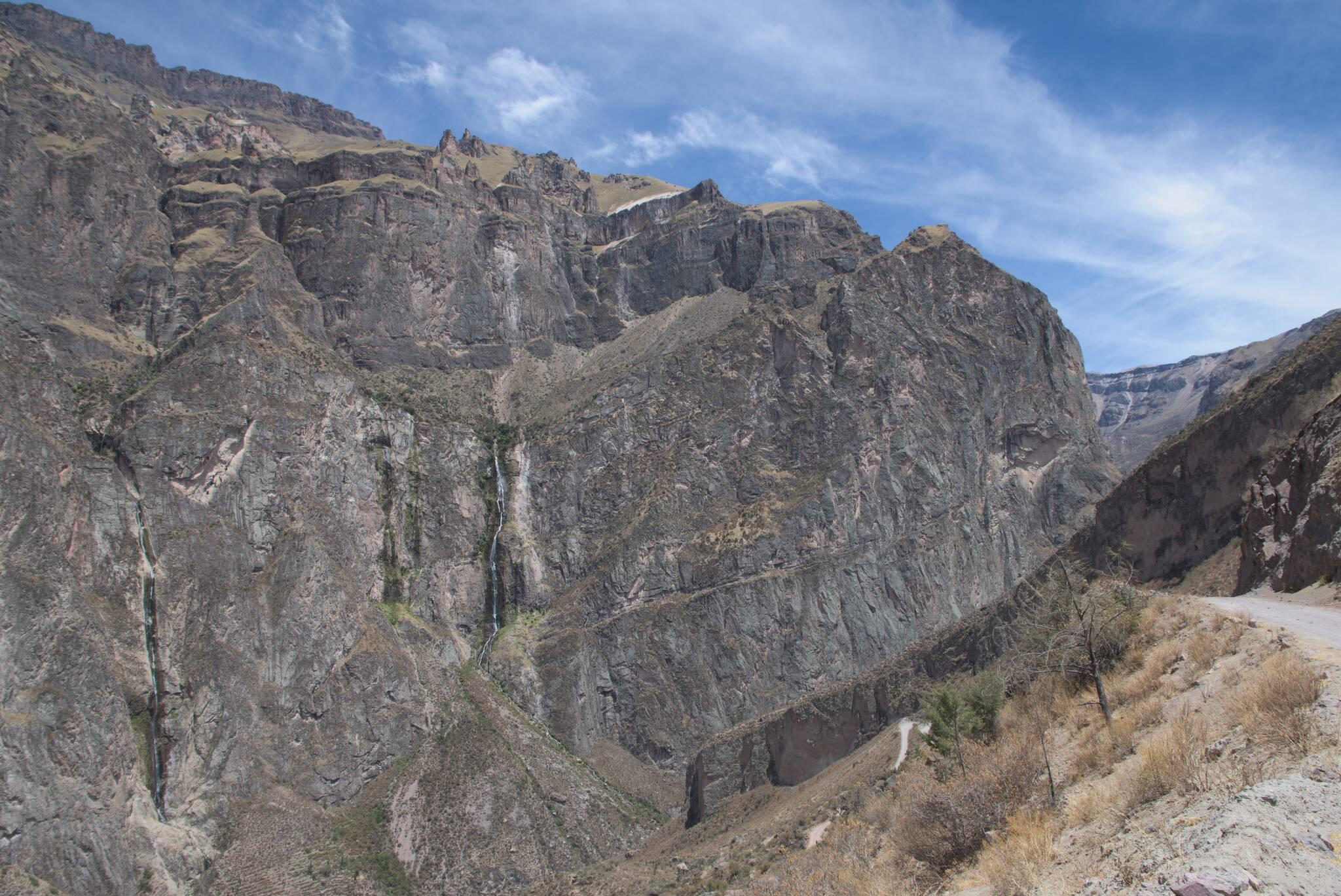 Ściany kanionu