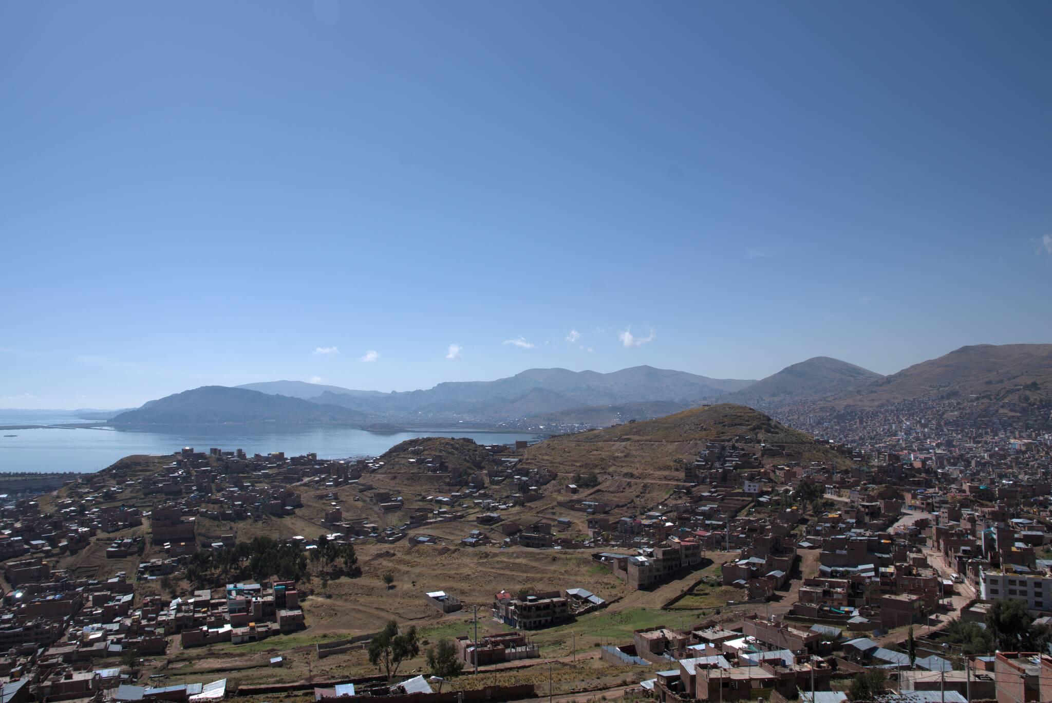 Jedno z większych miast, Puno