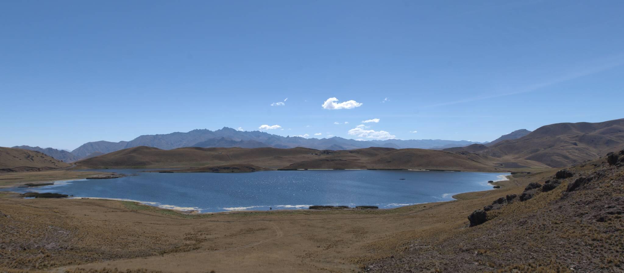 Wjeżdżam do regionu Puno