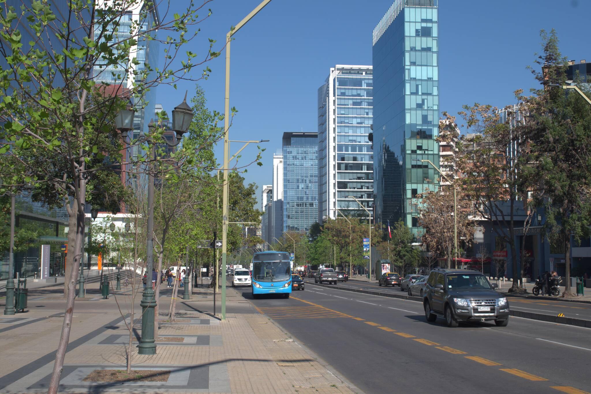 Dzielnica biznesowa Las Condes