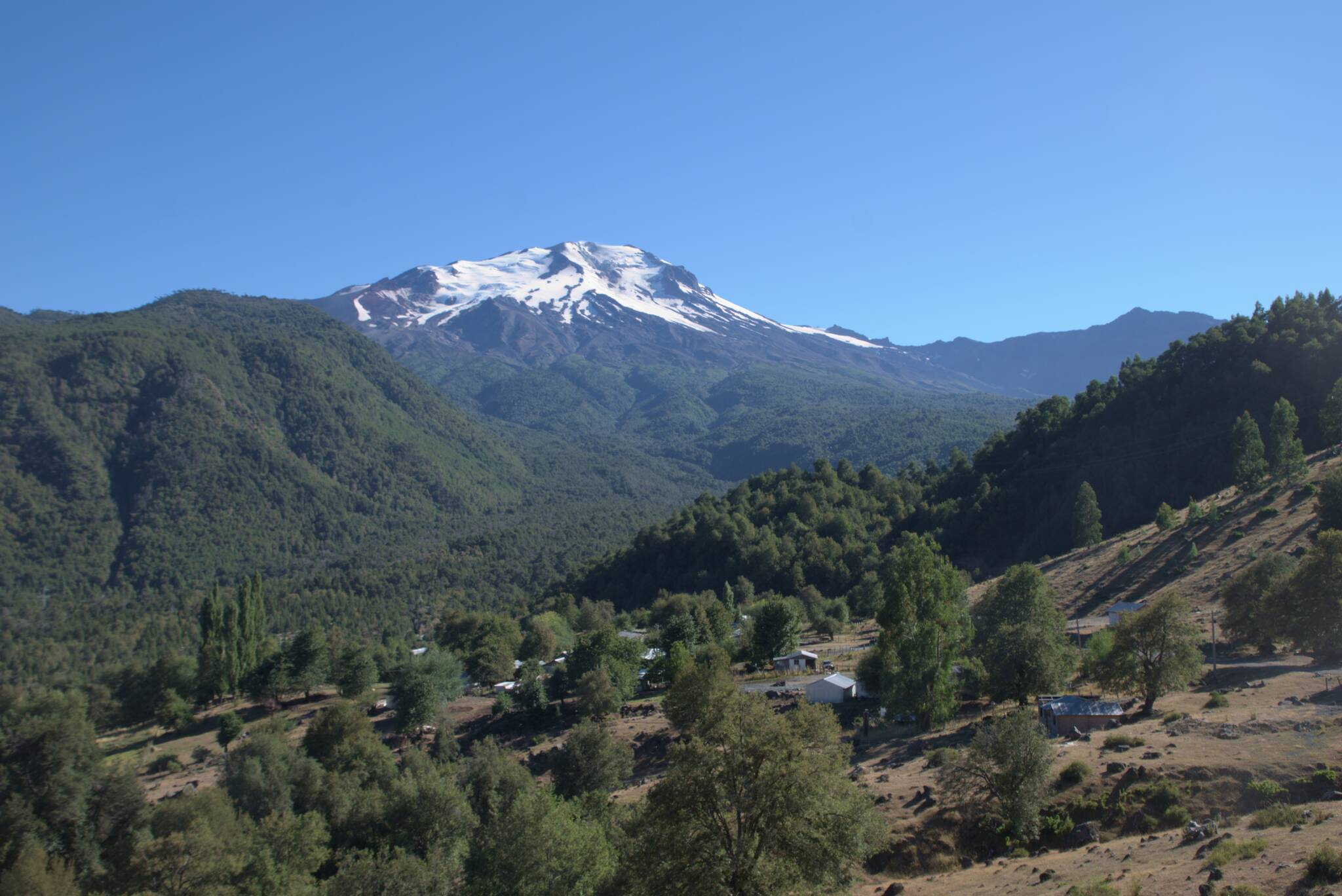 Wulkan Callaqui, widać go będzie jeszcze nie raz