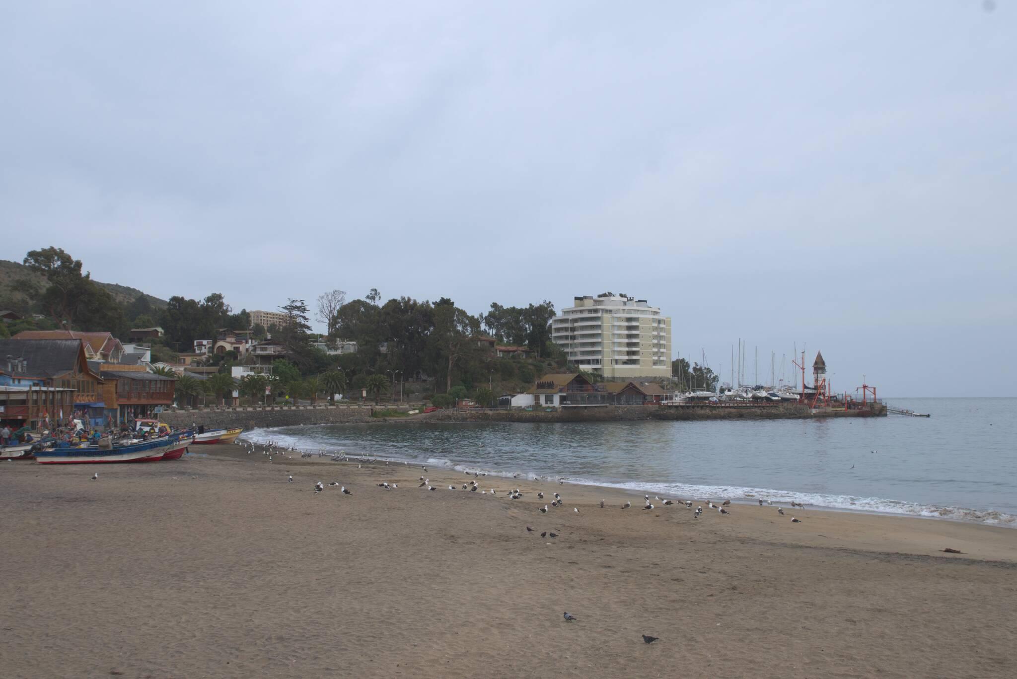 Plaża w Papudo