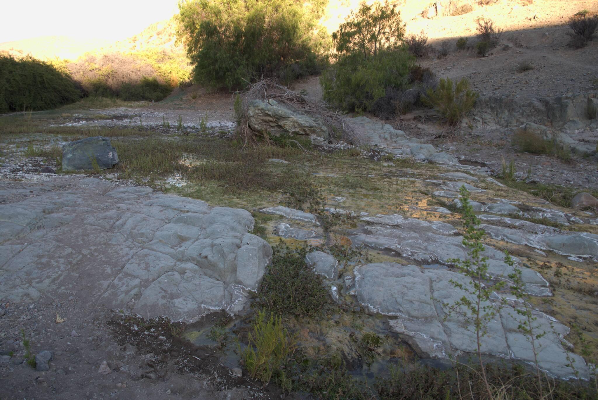 Woda płynie głównie pod ziemią, ale czasem wypływa na powierzchnię