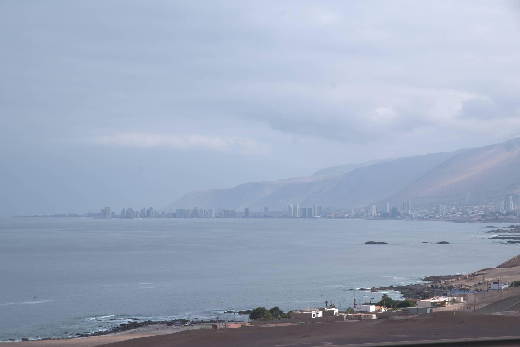 Iquique na horyzoncie