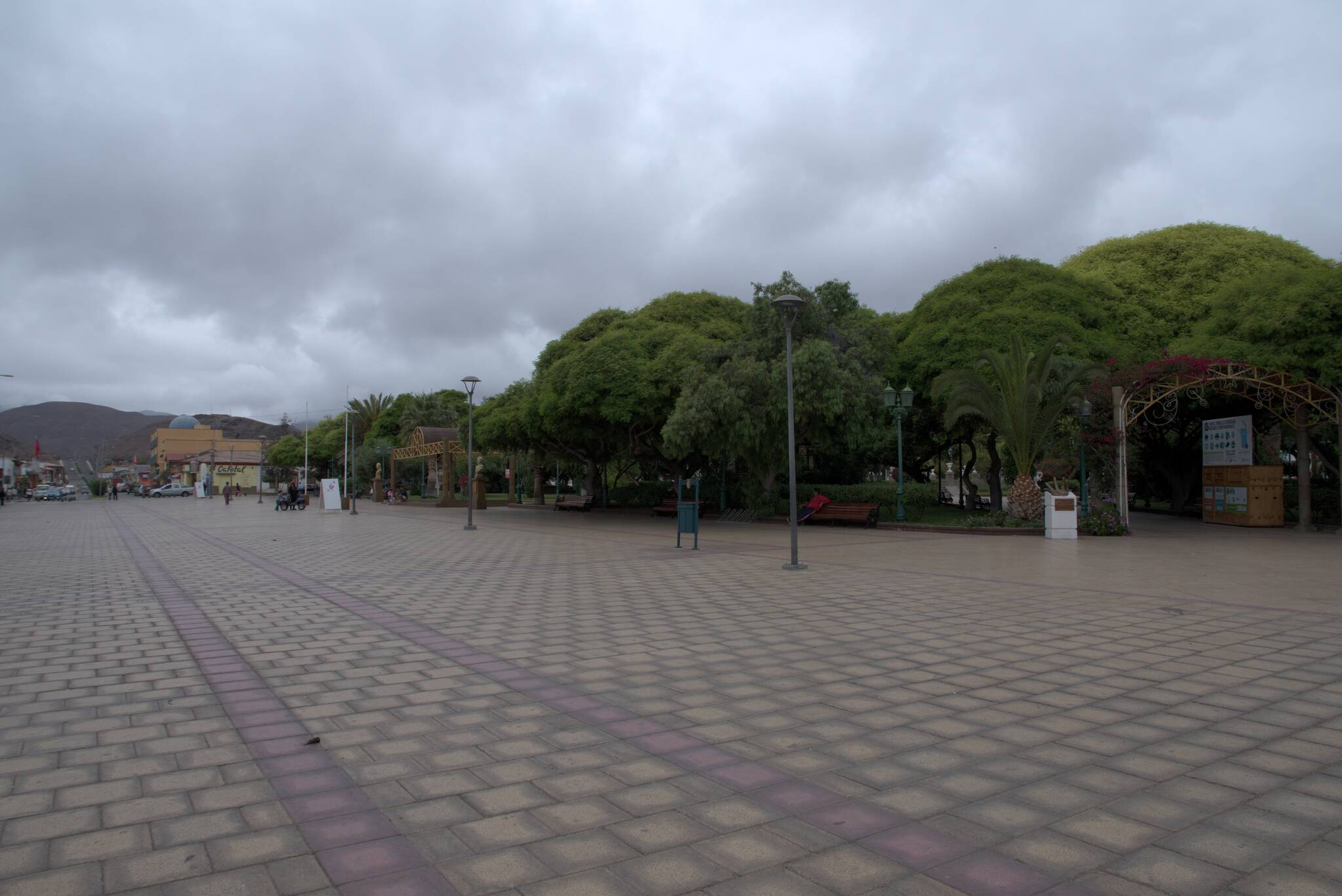 Całkiem ładna Plaza de Armas