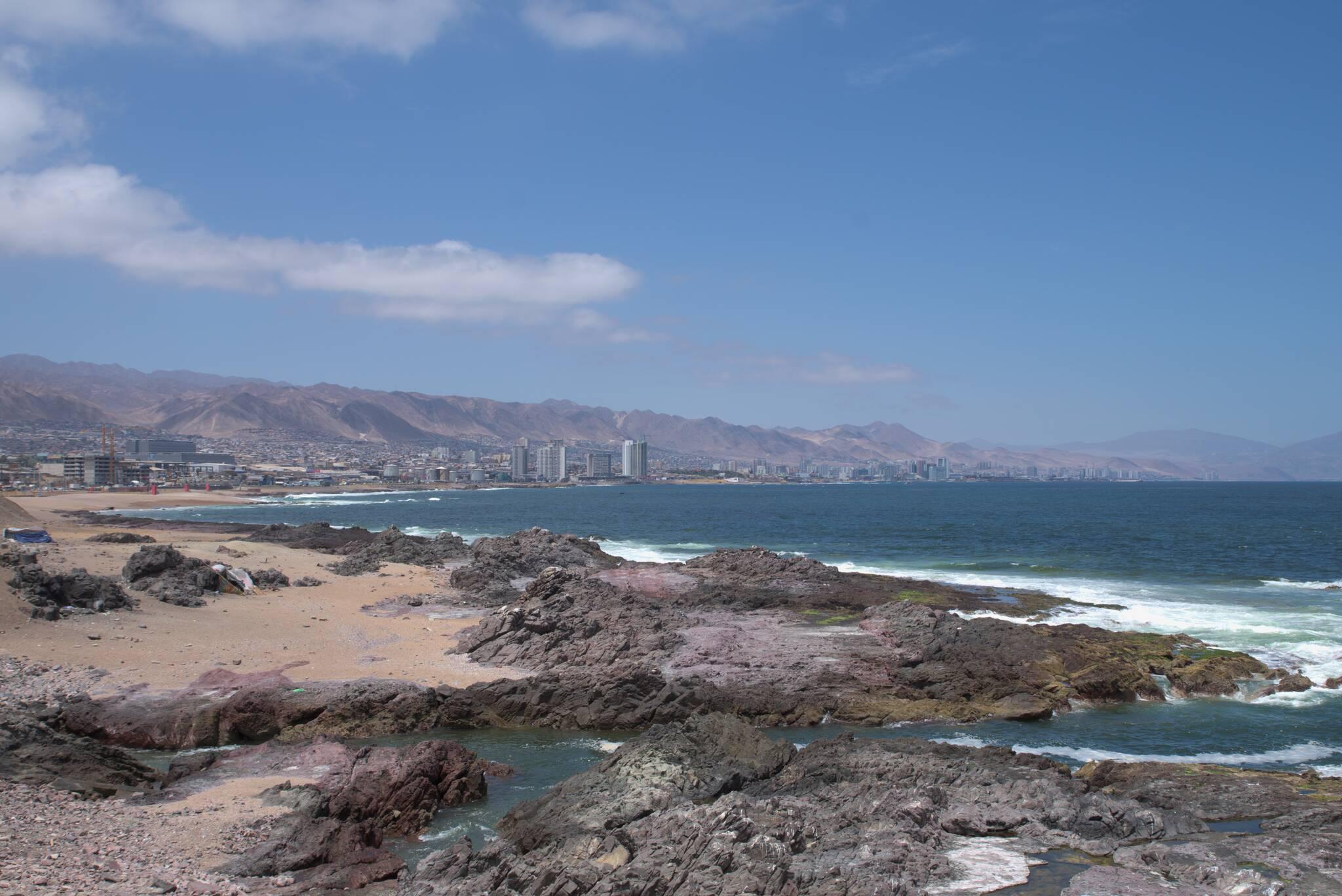 Największy ośrodek miejski na północy Chile
