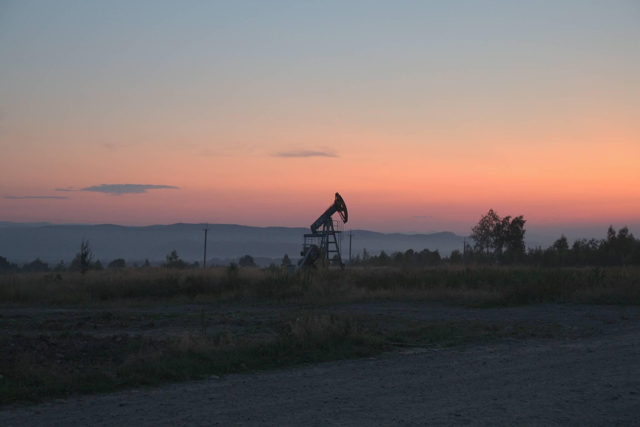 Znowu wywlokło mnie na pole naftowe
