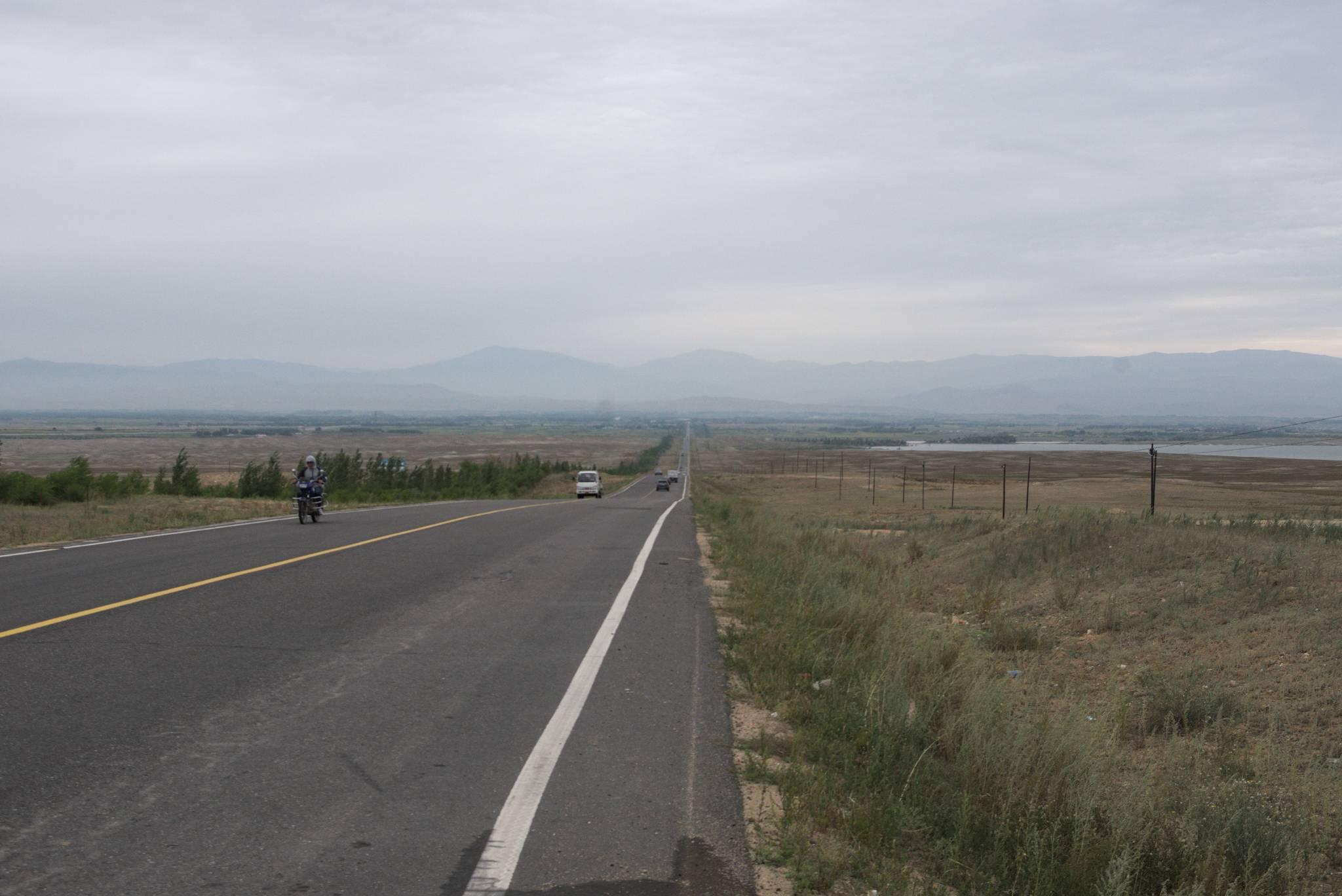 Droga do miasta Altai