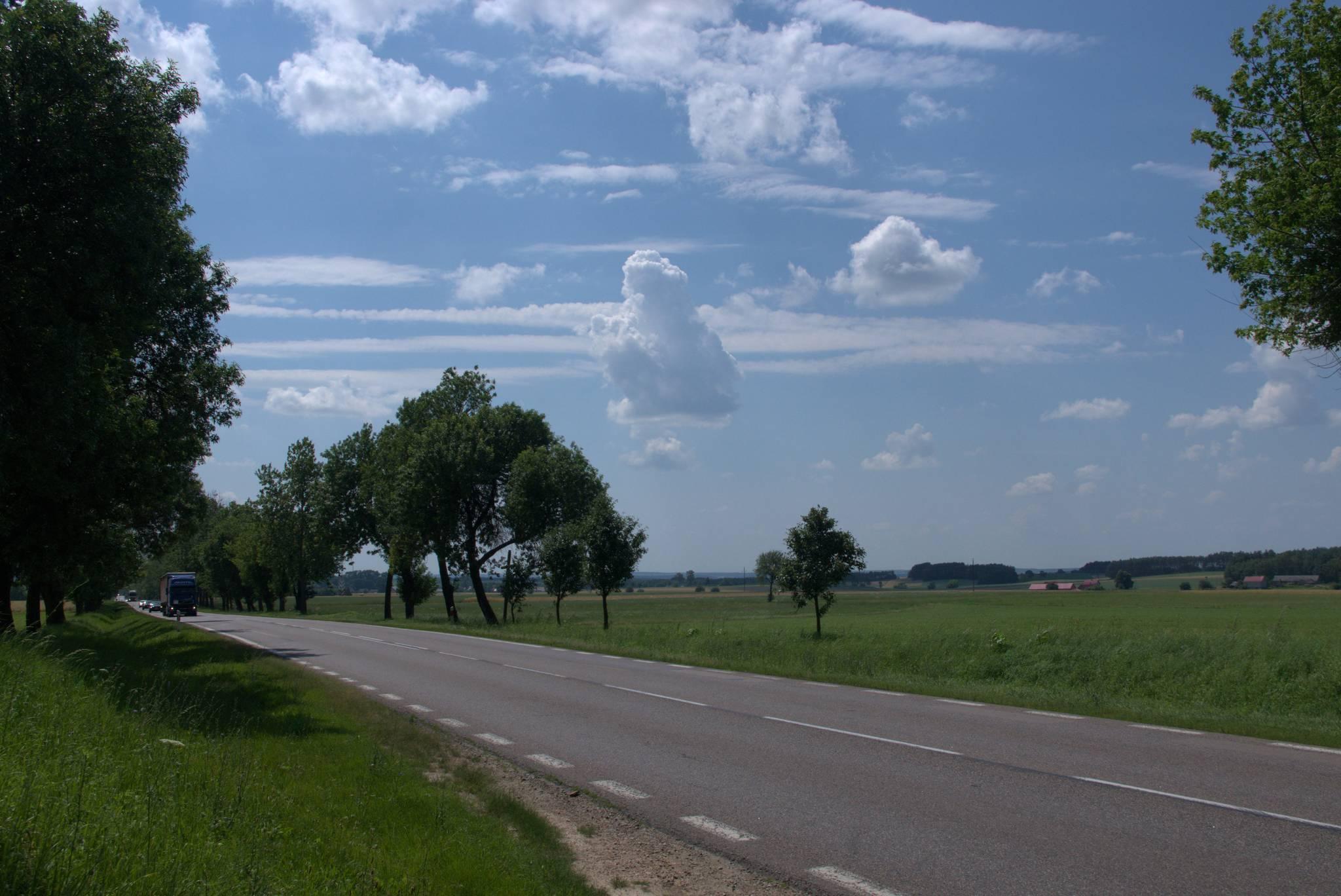 Droga za Łomżą
