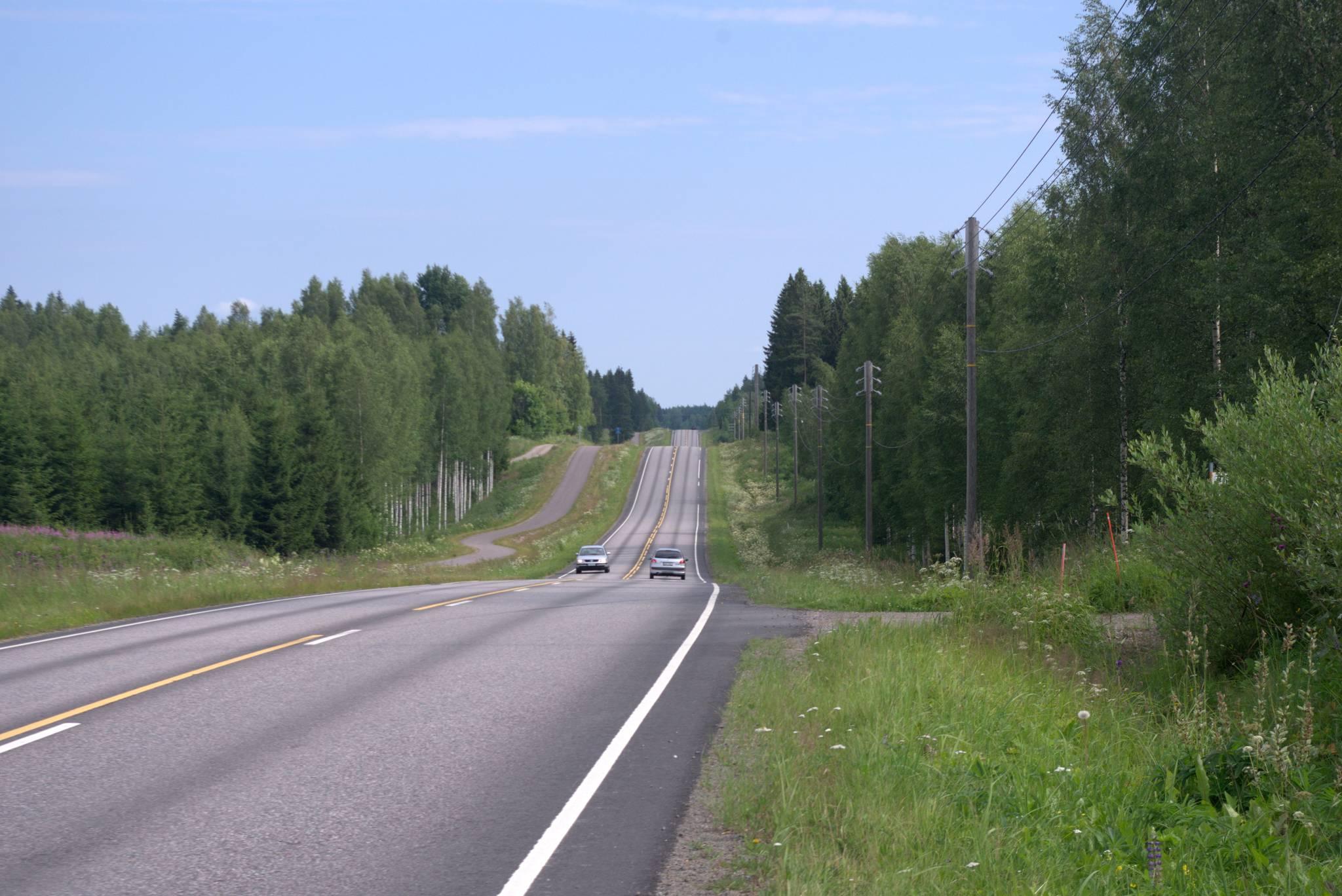 jakby ktoś wam kiedyś wmawiał, że Finlandia jest płaska to mu nie wierzcie