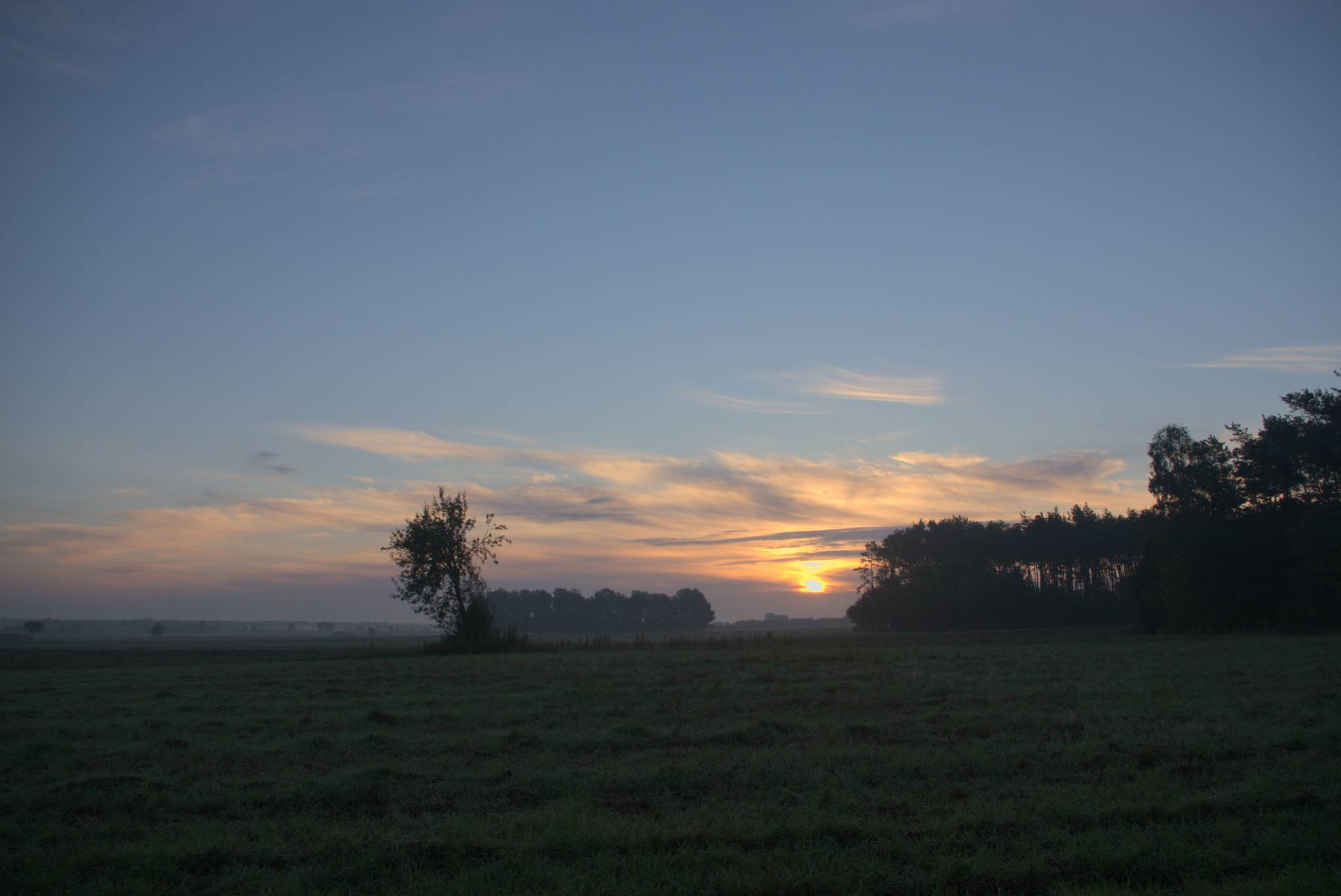 Jeszcze tylko ostatni wschód słońca i zabieram się do domu.