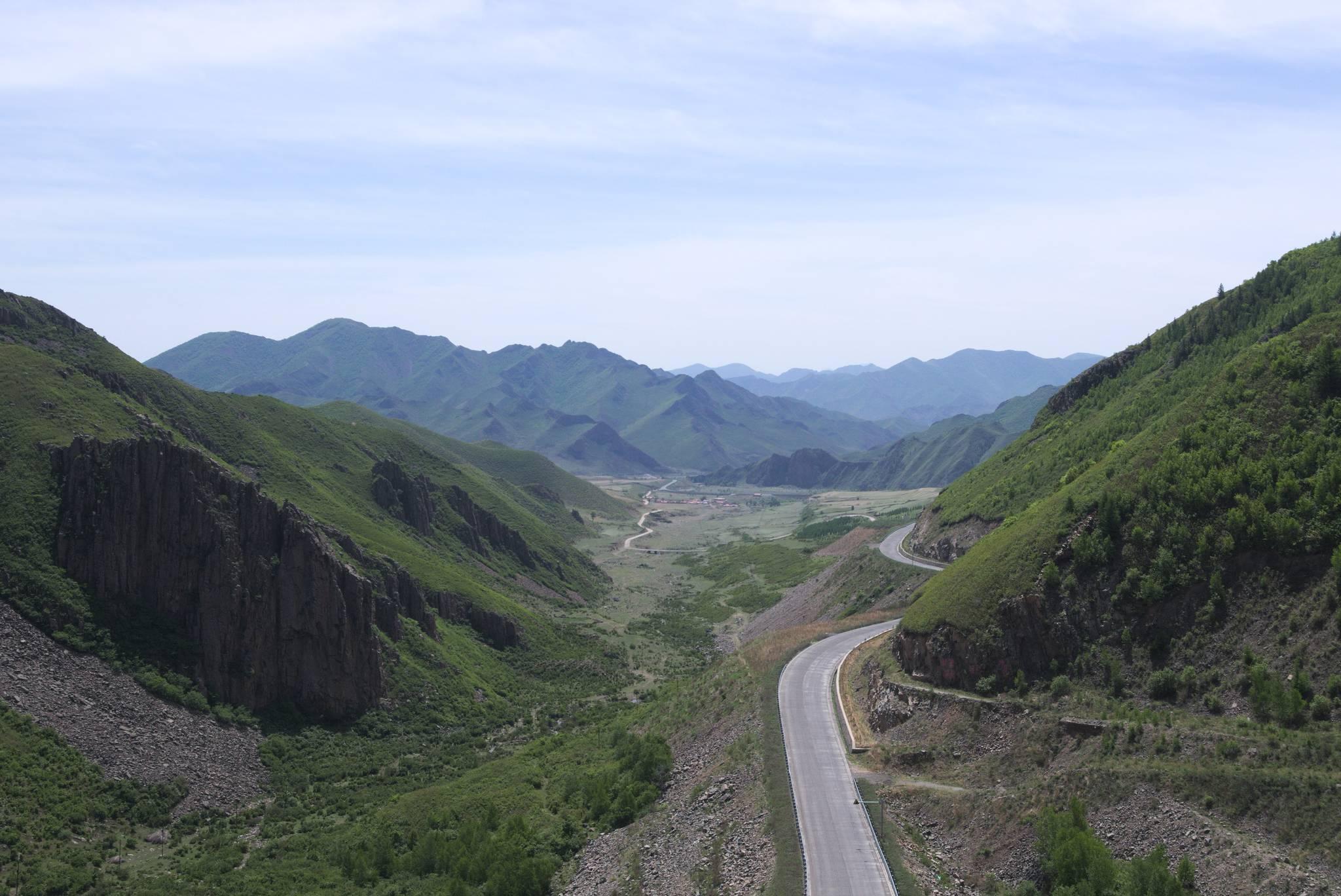 Przełęcz, brama do Mongolii